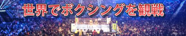 世界でボクシングを観戦